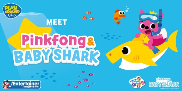Baby Shark and Pinkfong appear at The Entertainer Event Image